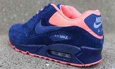 "Nike Air Max 90 Premium ""Brave Blue"""