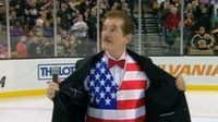 What is Hockey night without Rene Rancourt?