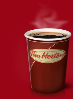 Tim Hortons Coffee (in my opinion, it's the best coffee out there.sorry Tarbucks :) Canadian Things, Canadian Food, Canadian Winter, Tim Hortons Coffee, Sweet And Low, Premium Coffee, Canada Day, Food Menu, Best Coffee