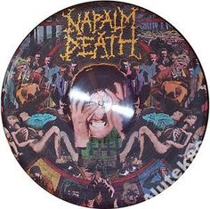 NAPALM DEATH-FROM ENSLAWEMENTE TO.../ PICTURE DISC