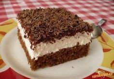 TĚSTO: 1 balíček prášku do pečiva 100 g cukru krupice 100 ml vody 200 ml oleje… Baking Recipes, Cake Recipes, Dessert Recipes, Good Food, Yummy Food, Czech Recipes, Mini Cheesecakes, Cupcakes, No Bake Cake
