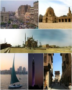 """Chapter 7: """" Like Cairo in Egypt, in the Nile delta """" -Cairo is the capital of Egypt and the largest city in Africa.  It was founded in the 10th Century by the Fatimid Dynasty, but the area has long been a site of national capitals, the remnants of which can still be seen in Old Cairo."""