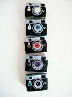 camara de fieltro y web de bolsas para cámaras