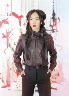 www.estetica.it | Credits Hair: Intercoiffure Italia Styling: Gaia Goldstein Make up: Pina Talia @Intercoiffure Photo: Amedeo Turello