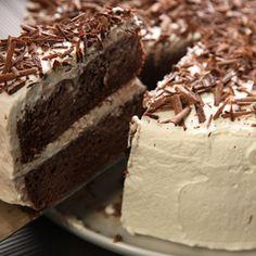 Tres Leches de Ron con Chocolate (Chocolate Rum Tres Leches Cake) Recipe