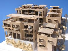 An Urban infill housing project in downtown Ventura California. Downtown Ventura is an area in need of residents who can walk to and from home, work and local area businesses. The design is. Ventura California, Willis Tower, Home Projects, Architects, Palm, Multi Story Building, Urban, Travel, Design