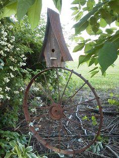 Wheel house ~ bird house