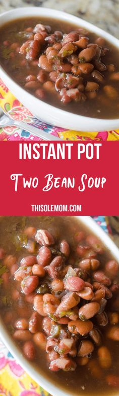 Instant Pot Two Bean