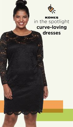 6adf39cc7bdea3 IN THE SPOTLIGHT. Find new plus-size dresses at Kohl's. Your style should