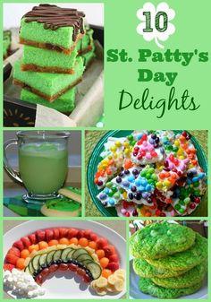 10 St. Patty's Day Recipes #StPatricksDay