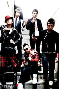 BIG BANG (the best korean group !)
