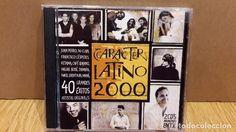 CARACTER LATINO 2000. DOBLE CD / WARNER MUSIC. 40 TEMAS / CALIDAD LUJO.