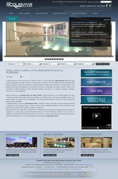 Wellness Hotel on Garda Lake http://www.hotelacquaviva.it/index-en.asp #wellness #website