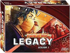 Amazon.com: Pandemic: Legacy Season 1 (Red Edition): Toys & Games Future Games, Cooperative Games, Man Games, Game Start, Story Arc, Adult Games, Second World, Make It Through, One Team