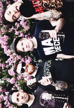 Joe Trohman, Andy Hurley, Patrick Stump and Pete Wentz