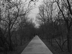 I actually really love how grainy this looks, kinda gives me the feel that I'm watching The Blair Witch Project  | photography creepy scary spooky travel texas woods