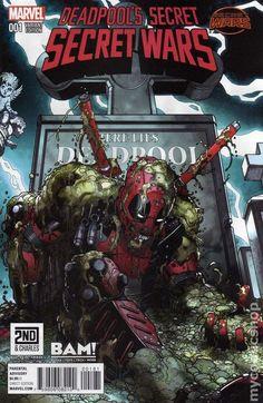 Deadpool's Secret Secret Wars (2015) 1BAM Marvel Comics comic book cover art