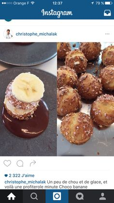Profiteroles, Orange, Muffin, Breakfast, Food, Christophe Michalak, Sprouts, Ice, Banana