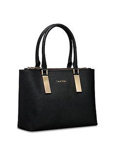 23da2df7c616 Calvin Klein jordan logo city dome satchel bag handbag with matching ...