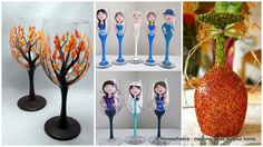 Wine Glass Painting can be a fun and interesting art to develop. Once you learn the skill and have mastered it, soon you will be wine glass painting all year round – maybe even doing it as a business. While it may look easy, it is a very delicate and time consuming skill to master.Read more