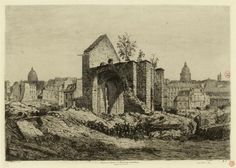 Ruines de l'Eglise St-Marcel, rue Mouffetard / 1 | Paris Musées