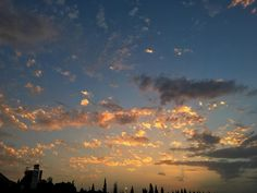 #BuenosDías empezamos la semana. #cielos #cielo #sky #nubes #clouds #goodmorning #jaén
