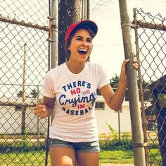 There's No Crying In Baseball! Tee