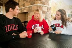 What's a Biola sweatshirt without some red in it?