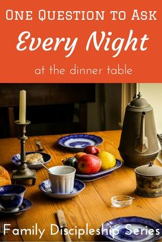 The dinner table is more often ripe with bickering than gratitude when you have a family, but this one question to ask every night at dinner changes that.  via @GracefulAbandon