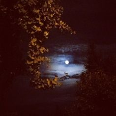Harvest Moon over Chelsea  3 X 3 Archival paper