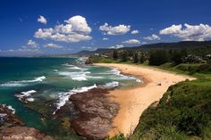 View From the Headland Hotel - Austinmer Beach, South Coast, NSW