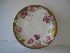 L Bernardaud Limoges D & C France Pink Gold White by mimiyaya