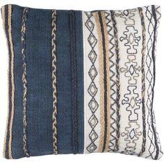 Trent Austin Design Lambert 100% Cotton Throw Pillow Cover