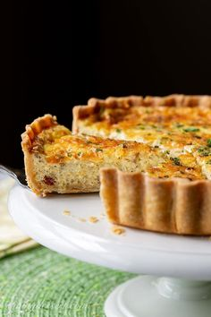 Enjoy this French tart filled with a deliciously savory custard made with smoky bacon, creamy Gruyère in a flaky pastry crust. French Quiche Recipe, Quiche Lorraine Recipe, Lorraine Recipes, Quiche Recipes, Cheese Recipes, Casserole Recipes, Savory Pastry, Flaky Pastry, Pastry Chef