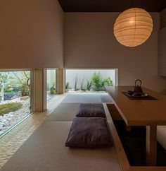 Japanese Style House, Japanese Interior Design, Japanese Modern, Japanese Design, Washitsu, Living Spaces, Living Room, House Prices, Decoration