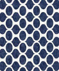 Opaque Blue Cutsom Rug - modern - rugs - - by customcoolrugs.com