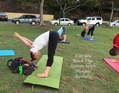 Beach Yoga classes