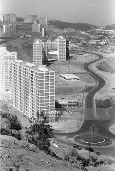 'Aerial view of some buildings. Caracas, January 1958 (Photo by Mario De Biasi\Mondadori Portfolio via Getty Images)'