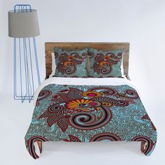 Juliana Curi India 3 Duvet Cover