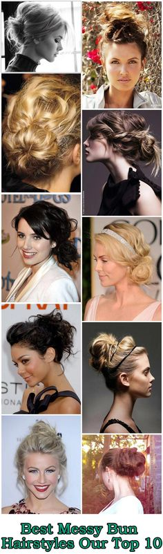 Best Messy Bun Hairstyles – Our Top 10