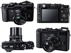 I love the retro feel of the camera but with super advanced innards - too bad it's between $500 and $600 :/   Fujifilm x10