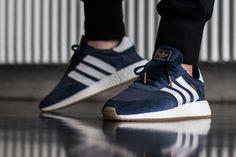 premium selection 035d8 d28ff adidas iniki runner blue 2 On Foot  adidas INIKI Runner (Red   Collegiate  Navy) eukicks