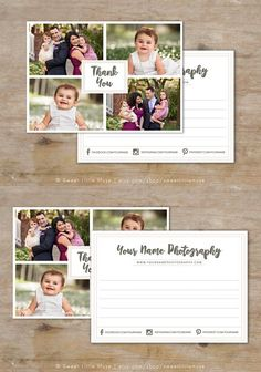 Thank You Card Template. Card Design Templates