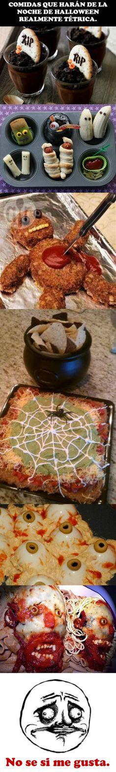 La mejor comida para un Halloween escalofriante