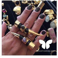 @lavativarios siempre sorprende con sus espectaculares diseños  #Anillos LO NUEVO en @lavativarios  WWW.LAVATIVARIOS.COM -  DIRECTORIO MMODA  #Tendencias con sello Venezolano  #DirectorioMModa #MModaVenezuela #DiseñoVenezolano #Venezuela #Designers #shopping #fashion #moda #style #newcollection #ring #orfebreria #exclusive