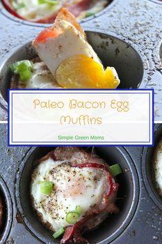Paleo Bacon Egg Muffins Recipe #breakfastideas #cleaneatingrecipes #healthybreakfast #healthymeals #paleo #paleodiet #healthyrecipes #healthydiet #healthyeating #glutenfreerecipes