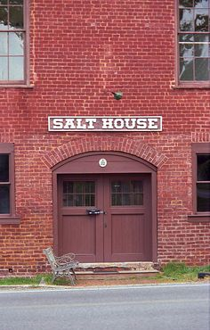 The Salt House in Jonesborough, Tennessee was indeed where they stored the salt in the 19th century. Not for the shaker, but for curing meats.