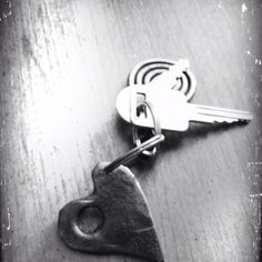"""Hand forged """"shot through the heart"""""""