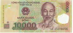 Banknote of Veitnam - 10000 Dong ( a )