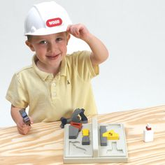 Start-'em-early Kid's Tool Tote Woodworking Plan from WOOD Magazine